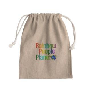 Rainbow People Planet Kinchaku