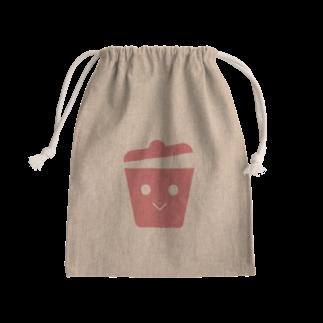 うつぼショップ!のごみ袋袋(顔つき) Kinchaku