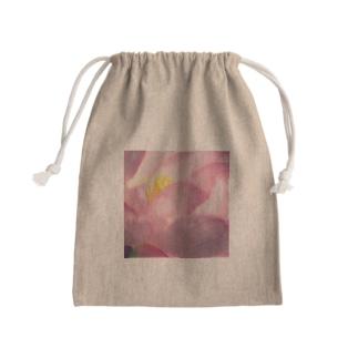 蓮の花咲くとき Mini Drawstring Bag