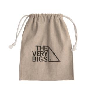 THE VERY BIGSオフィシャルグッズ【黒】 Kinchaku