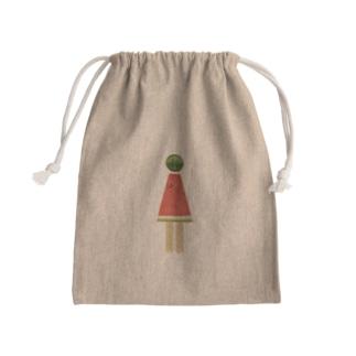 ピクトスイカちゃん Mini Drawstring Bag