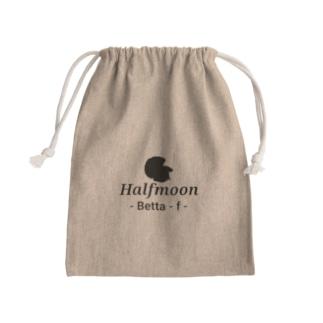 Halfmoon Betta⑤Black Kinchaku