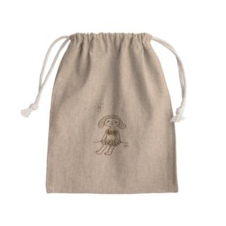 summer chan Mini Drawstring Bag