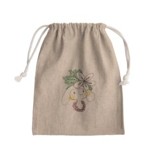 aloha chan Mini Drawstring Bag