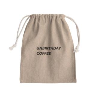 UNBIRTHDAYCOFFEE巾着 Kinchaku