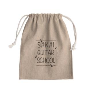SAKAI GUITAR SCHOOL 黒文字 Kinchaku