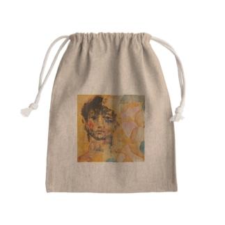 わたしはあの日、 Mini Drawstring Bag