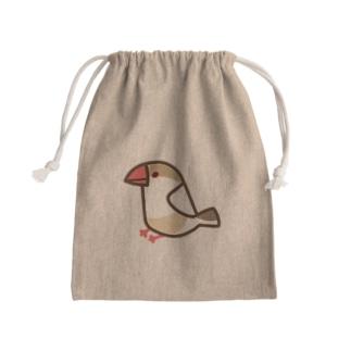クリーム文鳥 Kinchaku