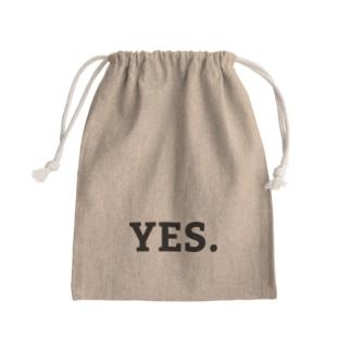 yes.no. Mini Drawstring Bag