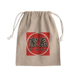 家系ラーメンマン Mini Drawstring Bag