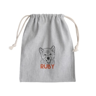RUBY Mini Drawstring Bag
