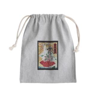 浮世絵風天女天尺 Kinchaku