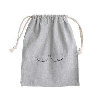おっぱい Mini Drawstring Bag