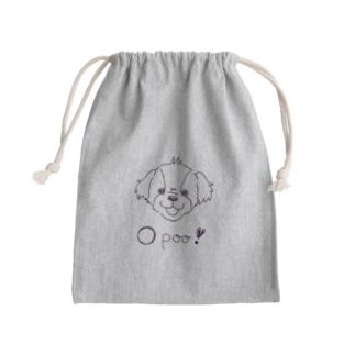 Link0723の○poo! <マルプー> Mini Drawstring Bag