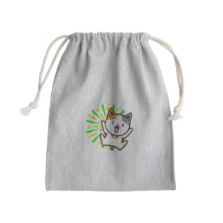 花火猫巾着 Kinchaku