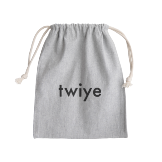 twiye_shopのtwiye offcial logo Kinchaku