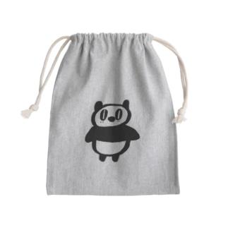 パンフクロウ Mini Drawstring Bag