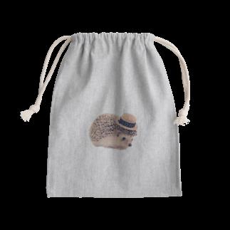 mochi__spopのハリネズミ 可愛い Kinchaku