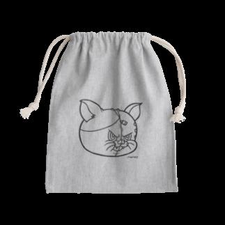 MAMES / SUGM 【METAPOP】の猫又スプリット フェイス Kinchaku