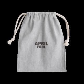 グラフィンの4月1日エイプリルフール用デザイン April fool Kinchaku