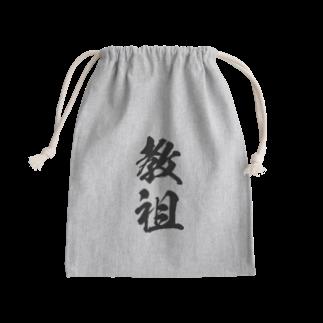 風天工房の教祖(黒) Kinchaku
