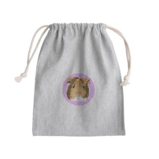 まろんちゃんグッズ Mini Drawstring Bag