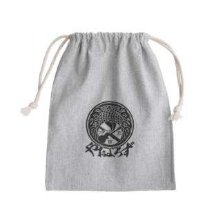 やおよろずグッズ(黒ロゴ) Kinchaku