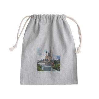 Disney castle Kinchaku