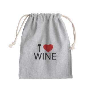 I LOVE WINE Kinchaku