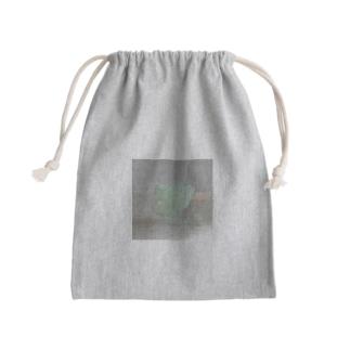 鉱物/グリーンアポフィライト Kinchaku