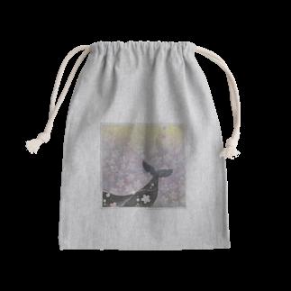 手描き屋*なないろパステル*の桜鯨 Kinchaku