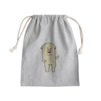 ファイティングポーズ犬 Kinchaku