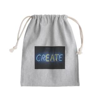 EAT CREATE グッズ Kinchaku