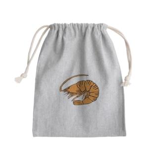 海老 エビ shrimp NO.36 Kinchaku
