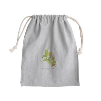 野に咲く草花の花束 Kinchaku