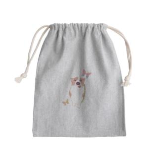 コーギー犬のナナVOL.3 Mini Drawstring Bag