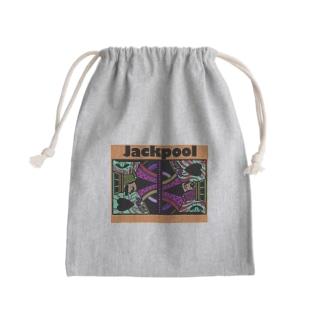Jackpool のJackpoolトランプ柄 Kinchaku