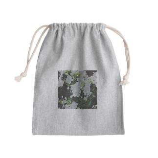 庭のしろい花 Kinchaku