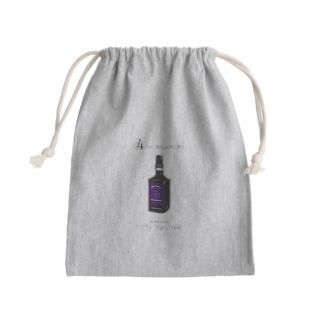 Titty Daniel -black Mini Drawstring Bag
