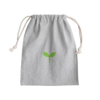 こどもの芽 Mini Drawstring Bag