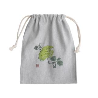 fujiimisaの母の水墨画〜仏手柑 Kinchaku
