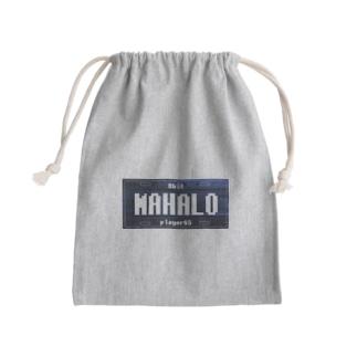 ナンバープレート【MAHALO】 Kinchaku