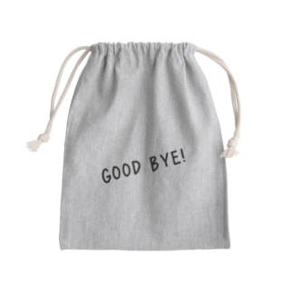 Good Bye! カジュアル黒 Kinchaku