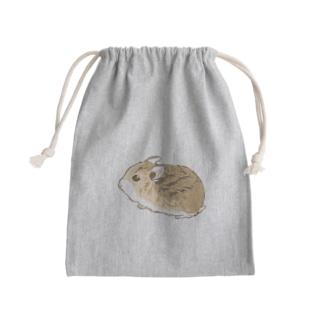 ロボロフスキー01 Mini Drawstring Bag
