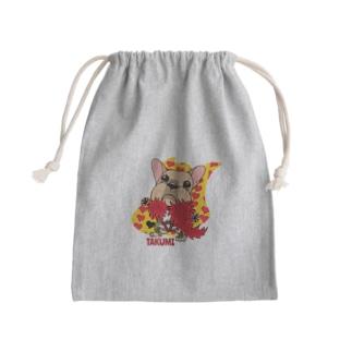 彩羽 匠 takumi irohaのわさイラスト Mini Drawstring Bag
