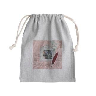 【引退馬支援企画】TUKGA KIREI DESUNE ウォールTYPE Mini Drawstring Bag
