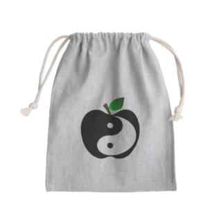 フルーツタイチー (白黒りんご) Kinchaku