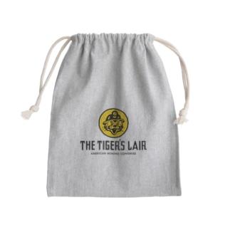 THE TIGER'S LAIR Mini Drawstring Bag