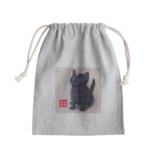 萌獣 猫 ユニャコーン:クロ(ユニャクロ) Kinchaku