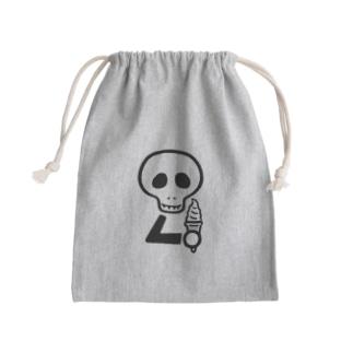 スカルンバ( ソフトクリーム) Mini Drawstring Bag